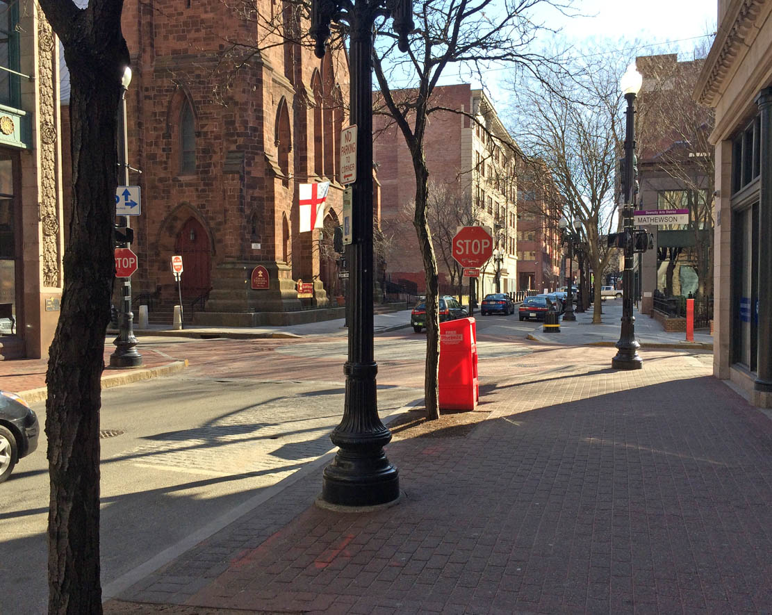 Westminster Street in Providence, Rhode Island