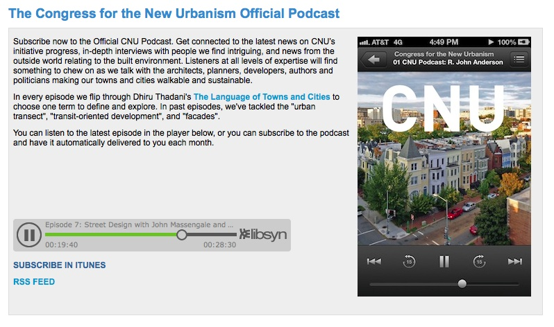 CNU Podcast with John Massengale and Victor Dover - Street Design, The Secret to Great Cities and Towns